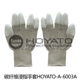 An toàn Breathable Anti Static Găng tay Customized ESD Carbon Fiber PU Coated Glove